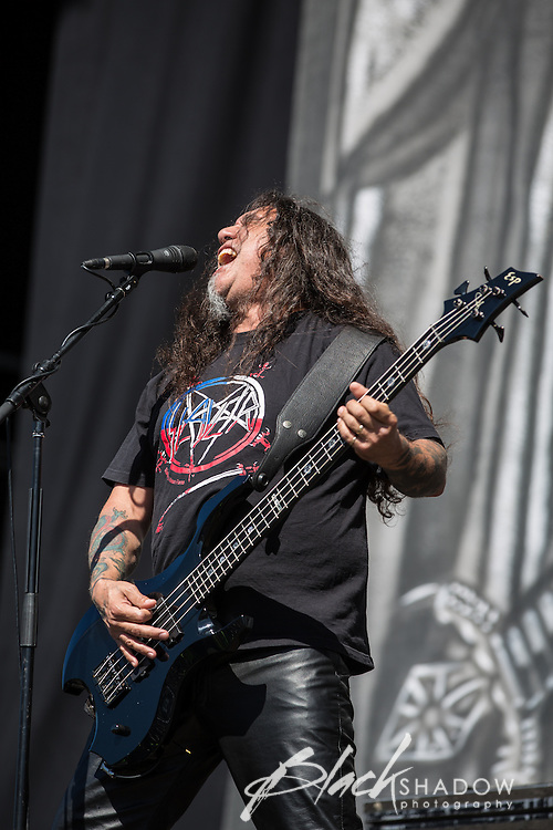 Thrash metal kings Slayer performing at Soundwave Festival 2013, Flemington Racecouse, Melbourne, 1 March 2013