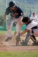 BASEBALL - ELITE - CLERMONT-FERRAND (FRANCE) - STADE DES CEZEAUX - 03/05/2008 - ANTHONY PIQUET (LA GUERCHE HAWKS)