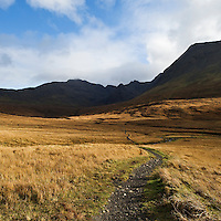 Pathway to Fairy Pools, Coire na Creiche, Glenbrittle, Isle of Skye, Scotland