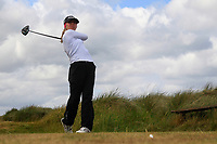 Aoife Ni Thuama (Douglas) during the 1st round of the Irish Women's Open Stroke Play Championship, Enniscrone Golf Club, Enniscrone, Co. Sligo. Ireland. 16/06/2018.<br /> Picture: Golffile | Fran Caffrey<br /> <br /> <br /> All photo usage must carry mandatory copyright credit (© Golffile | Fran Caffrey)