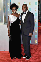 LONDON, UK - FEBRUARY 10: Viola Davis and Julius Tennon at the 72nd British Academy Film Awards held at Albert Hall on February 10, 2019 in London, United Kingdom. Photo: imageSPACE/MediaPunch<br /> CAP/MPI/IS<br /> ©IS/MPI/Capital Pictures