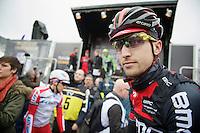 Taylor Phinney (USA) at the start<br /> <br /> Omloop Het Nieuwsblad 2014