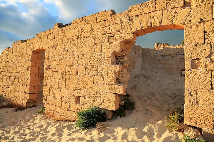 Ruins at Eucla. Nullarbor Plain. Western Australia.
