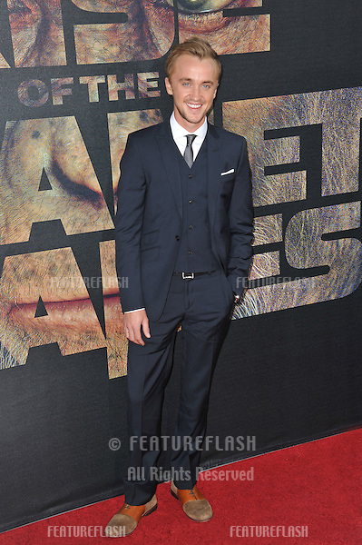 """Tom Felton at the Los Angeles premiere of his new movie """"Rise of the Planet of the Apes"""" at Grauman's Chinese Theatre, Hollywood..July 28, 2011  Los Angeles, CA.Picture: Paul Smith / Featureflash"""