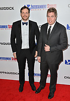 Taylor Allen &amp; Andrew Logan at the premiere for &quot;Chappaquiddick&quot; at the Samuel Goldwyn Theatre, Los Angeles, USA 28 March 2018<br /> Picture: Paul Smith/Featureflash/SilverHub 0208 004 5359 sales@silverhubmedia.com