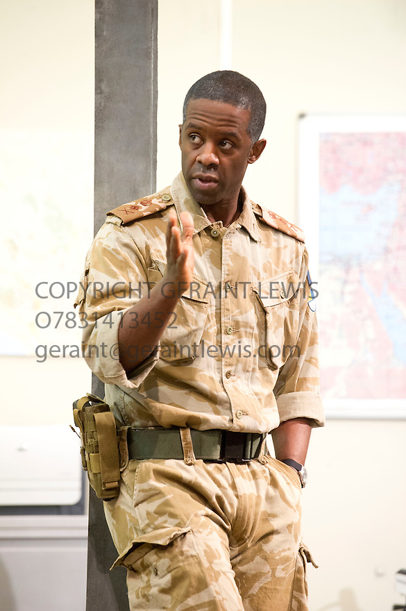 Othello by William Shakespeare, directed by Nicholas Hytner. With Adrian Lester as Othello. Opens at The Olivier Theatre at  the Royal National Theatre on 23/4/13. CREDIT Geraint Lewis