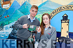 Darren Murphy and Michelle McCarthy were awarded Male and Female Sports Person of the Year in Tarbert Comprehensive School this week.