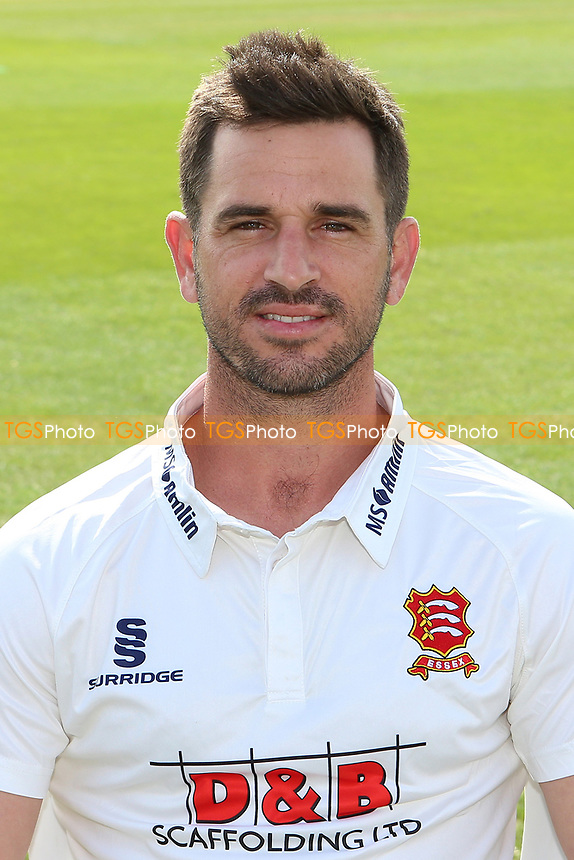 Ryan ten Doeschate of Essex in Specsavers County Championship kit during the Essex CCC Press Day at The Cloudfm County Ground on 5th April 2017
