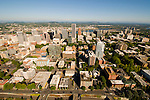 Aerial View of Downtown Portland, Oregon