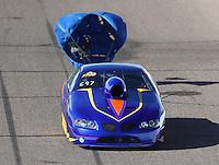 Feb 25, 2017; Chandler, AZ, USA; NHRA top sportsman driver Kelly Harper during qualifying for the Arizona Nationals at Wild Horse Pass Motorsports Park. Mandatory Credit: Mark J. Rebilas-USA TODAY Sports