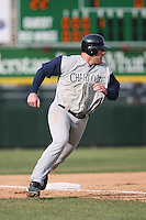 April 15th, 2007:  Casey Rogowski of the Charlotte Knights, Class-AAA affiliate of the Chicago White Sox, during a game at Frontier Field in Rochester, NY.  Photo by:  Mike Janes/Four Seam Images