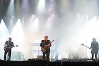 CARHAIX-PLOUGUER, FRANCE - JULY 15, 2016: Frank Black, David Lovering, Joey Santiago &amp; Paz Lenchantin of The Pixies perform at the Festival des Vieilles Charrues, Carhaix-Plouguer, France<br /> Picture: Kristina Afanasyeva / Featureflash