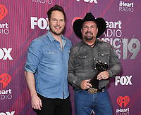 14 March 2019 - Los Angeles, California - Chris Pratt, Garth Brooks. 2019 iHeart Radio Music Awards - Press Room held at Microsoft Theater. Photo Credit: Birdie Thompson/AdMedia