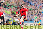 Jason McKenna Glenbeigh Glencar in action against  Rock Saint Patricks in the Junior Football All Ireland Final in Croke Park on Sunday.