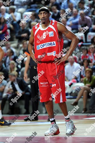 2011-10-15 / Basketbal / seizoen 2011-2012 / Antwerp Giants - Gent / Richard Chaney..Foto: Mpics