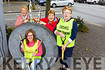 "Julie Gleason (Chairperson), Mary Hanlon (Secretary) and Breda McGrath with Collette Foran seated,  members of the Listowel Tidy Town ""Dawn Chorus"" group who were out every morning in keeping the town clean."