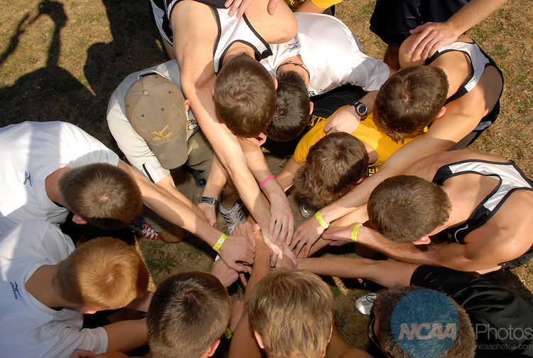 17 NOV 2007: The Division II Men's and Women's Cross Country Championship takes place at the MSSU Cross Country Course in Joplin, MO. Stephen Nowland/NCAA Photos