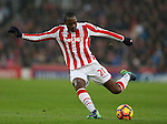 Gianelli Imbula of Stoke City  during the English Premier League match at the Bet 365 Stadium, Stoke on Trent. Picture date: December 17th, 2016. Pic Simon Bellis/Sportimage