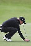 Day one of the Irish PGA championship at Seapoint Golf Club, Darren McWilliams on the 9th green...Picture Jenny Matthews/Newsfile.ie