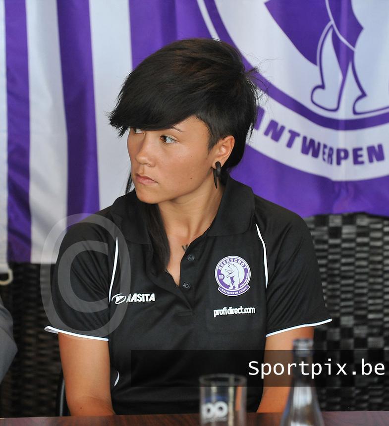 Beerschot AC Dames persvoorstelling : Riana Nainggolan.foto DAVID CATRY / Vrouwenteam.be