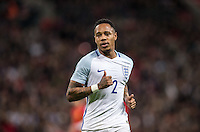 Nathaniel Clyne (Liverpool) of England during the International Friendly match between England and Spain at Wembley Stadium, London, England on 15 November 2016. Photo by Andy Rowland.
