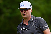 Zach Johnson (USA) watches his tee shot on 9 during round 1 of the Valero Texas Open, AT&amp;T Oaks Course, TPC San Antonio, San Antonio, Texas, USA. 4/20/2017.<br /> Picture: Golffile | Ken Murray<br /> <br /> <br /> All photo usage must carry mandatory copyright credit (&copy; Golffile | Ken Murray)