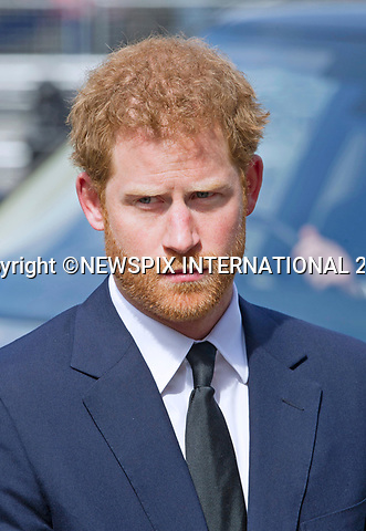 05.04.2017; London, UK: PRINCE HARRY<br /> attends the Service of Hope at Westminster Abbey, for the victims of the terrorist attack at Westminster on 22nd March 2017.<br /> Mandatory Photo Credit: &copy;Francis Dias/NEWSPIX INTERNATIONAL<br /> <br /> IMMEDIATE CONFIRMATION OF USAGE REQUIRED:<br /> Newspix International, 31 Chinnery Hill, Bishop's Stortford, ENGLAND CM23 3PS<br /> Tel:+441279 324672  ; Fax: +441279656877<br /> Mobile:  07775681153<br /> e-mail: info@newspixinternational.co.uk<br /> Usage Implies Acceptance of OUr Terms &amp; Conditions<br /> Please refer to usage terms. All Fees Payable To Newspix International