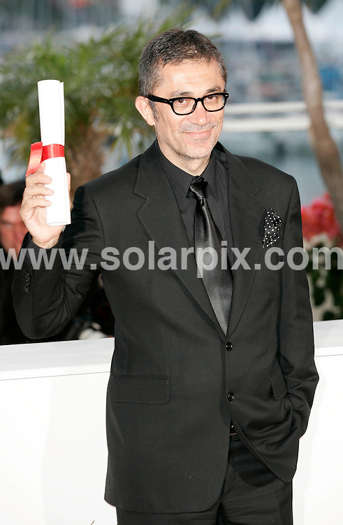 **ALL ROUND PICTURES FROM SOLARPIX.COM**                                             **UK AND SPAIN SYNDICATION RIGHTS ONLY**                                                                                  Caption: Golden Globe awards winner´s photocall at the  64th Cannes Film Festival in France.                                                                              This pic:  Nuri Bilge Ceylan                                                                                            JOB REF:13418        CPR/Heinz       DATE:23.05.2011                                                          **MUST CREDIT SOLARPIX.COM OR DOUBLE FEE WILL BE CHARGED**                                                                      **MUST AGREE FEE BEFORE ONLINE USAGE**                               **CALL US ON: +34 952 811 768 or LOW RATE FROM UK 0844 617 7637**