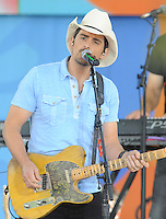 NEW YORK, NY - June 24 : Brad Paisley performs in Central Field at Rumsey Playfield as part of the Good Morning America Summer Concert Series on June 24 in New York City .  Photo Credit:John Palmer/ Media Punch
