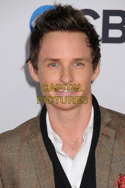 Eddie Redmayne.People's Choice Awards 2013 - Arrivals held at Nokia Theatre L.A. Live, Los Angeles, California, USA..January 9th, 2013.headshot portrait brown white black.CAP/ADM/BP.©Byron Purvis/AdMedia/Capital Pictures.