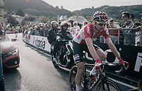 Tim Wellens (BEL/Lotto Soudal) finishing<br /> <br /> Il Lombardia 2017<br /> Bergamo to Como (ITA) 247km