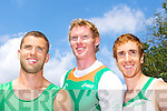 Olympic rowers  Paul Griffin, Sean Casey, Cathal Moynihan,