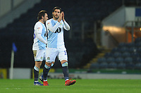 Blackburn Rovers' Danny Graham applauds fans as he's substituted<br /> <br /> Photographer Kevin Barnes/CameraSport<br /> <br /> The EFL Sky Bet Championship - Blackburn Rovers v Wigan Athletic - Tuesday 12th March 2019 - Ewood Park - Blackburn<br /> <br /> World Copyright © 2019 CameraSport. All rights reserved. 43 Linden Ave. Countesthorpe. Leicester. England. LE8 5PG - Tel: +44 (0) 116 277 4147 - admin@camerasport.com - www.camerasport.com