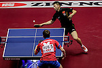 Athelete in action during the ITTF World Team Table Tennis Championship 2014 at the Yoyogi National Gymnasium on April 30, 2014 in Tokyo, Japan. Photo by Alan Siu / Power Sport Images