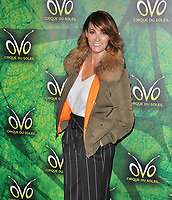Sarah Parish at the OVO by Cirque du Soleil press night, Royal Albert Hall, Kensington Gore, London, England, UK, on Wednesday 10 January 2018.<br /> CAP/CAN<br /> &copy;CAN/Capital Pictures