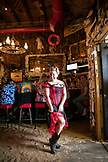 ALASKA, Juneau, Giselle, a waitresses at the Red Dog Saloon in downtown Juneau