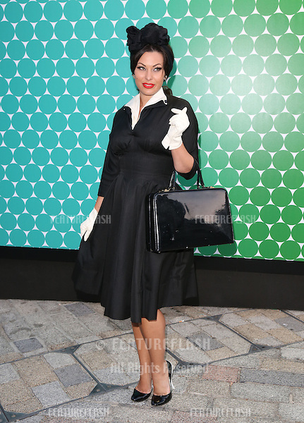 Immodesty Blaize at the Felder Felder catwalk show as part of London Fashion Week SS13, Somerset House, London.14/09/2012 Picture by: Henry Harris / Featureflash