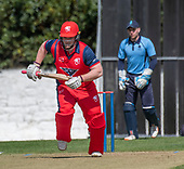 Issued by Cricket Scotland - Tilney Regional Series - Knights V Warriors - Grange CC - Michael Carson - picture by Donald MacLeod - 28.04.19 - 07702 319 738 - clanmacleod@btinternet.com - www.donald-macleod.com