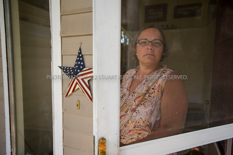 Richland, WA, USA - June 26th, 2014<br /> <br /> Donna Busche, 51, at her home in Richland, Washington. <br /> <br /> Busche was a whistleblower at the troubled nuclear facility run by the US Department of Energy. She was fired from her job at URS Corp. in February, 2014 after raising concerns about safety at a vitrification plant under construction. Busche worked as a manager of Environmental and Nuclear Safety at the Reservation.<br /> <br /> (Photograph by Stuart Isett/For The Washington Post)