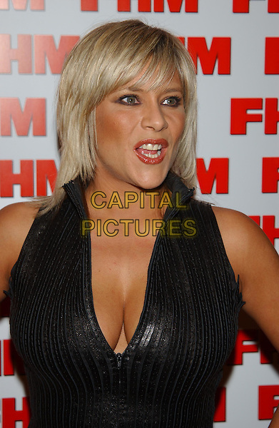 SAMANTHA FOX - SAM FOX.FHM 100 Sexiest Party 2003.Aldwych tube station.sales@capitalpictures.com.www.capitalpictures.com.©Capital Pictures