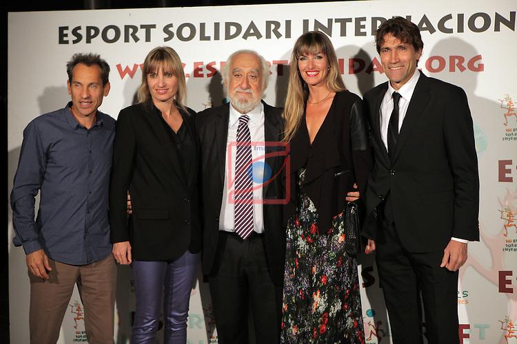 XIe Sopar Solidari d'ESI (Esport Solidari Internacional).<br /> Josep Maldonado, Jordi Arrese, Julio Salinas &amp; Sras.