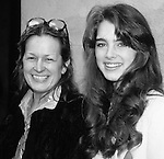 Brooke Shields and mom Teri Shields New York City. 1981.