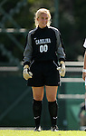 North Carolina's Anna Rodenbough on Sunday, October 15th, 2006 at Fetzer Field in Chapel Hill, North Carolina. The University of North Carolina Tarheels defeated the Virginia Tech Hokies 1-0 in an Atlantic Coast Conference NCAA Division I Women's Soccer game.