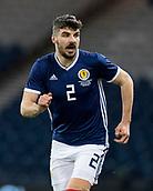 23rd March 2018, Hampden Park, Glasgow, Scotland; International Football Friendly, Scotland versus Costa Rica; Callum Paterson of Scotland in action