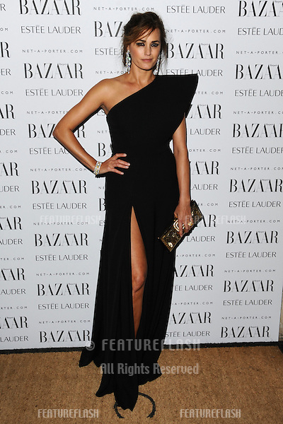 Yasmin Le Bon arriving for the Harpers Bazaar Women of the Year Awards 2011 at Claridges, London. 07/11/2011 Picture by: Steve Vas / Featureflash