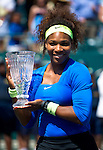 Serena Wins Championship Over Safarova 6-0 6-1