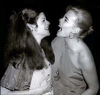 Gilda Radner and Margeaux Hemingway at Studio 54 1978<br /> Photo By Adam Scull/PHOTOlink.net