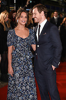"Alicia Vikander and Michael Fassbender<br /> at the premiere of ""The Light Between Oceans"" at the Curzon Mayfair, London.<br /> <br /> <br /> ©Ash Knotek  D3184  19/10/2016"