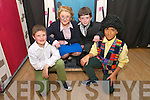 Cast Tadgh O'Connor, Catherine McKivergan, Kevin Barry, Dion O'Neill at the Tim Landers School of Arts production of Hairspray at the Presentation primary school hall on Saturday
