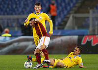 Calcio, Champions League: Gruppo E - Roma vs Bate Borisov. Roma, stadio Olimpico, 9 dicembre 2015.<br /> during the Champions League Group E football match between Roma and Bate Borisov at Rome's Olympic stadium, 9 December 2015.<br /> UPDATE IMAGES PRESS/Riccardo De Luca